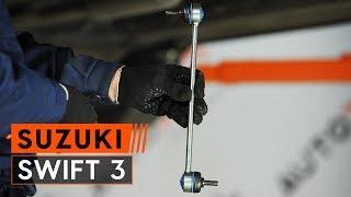 Cum se înlocuiește bara torsiune din față pe SUZUKI SWIFT 3 Hatchback [TUTORIAL AUTODOC]