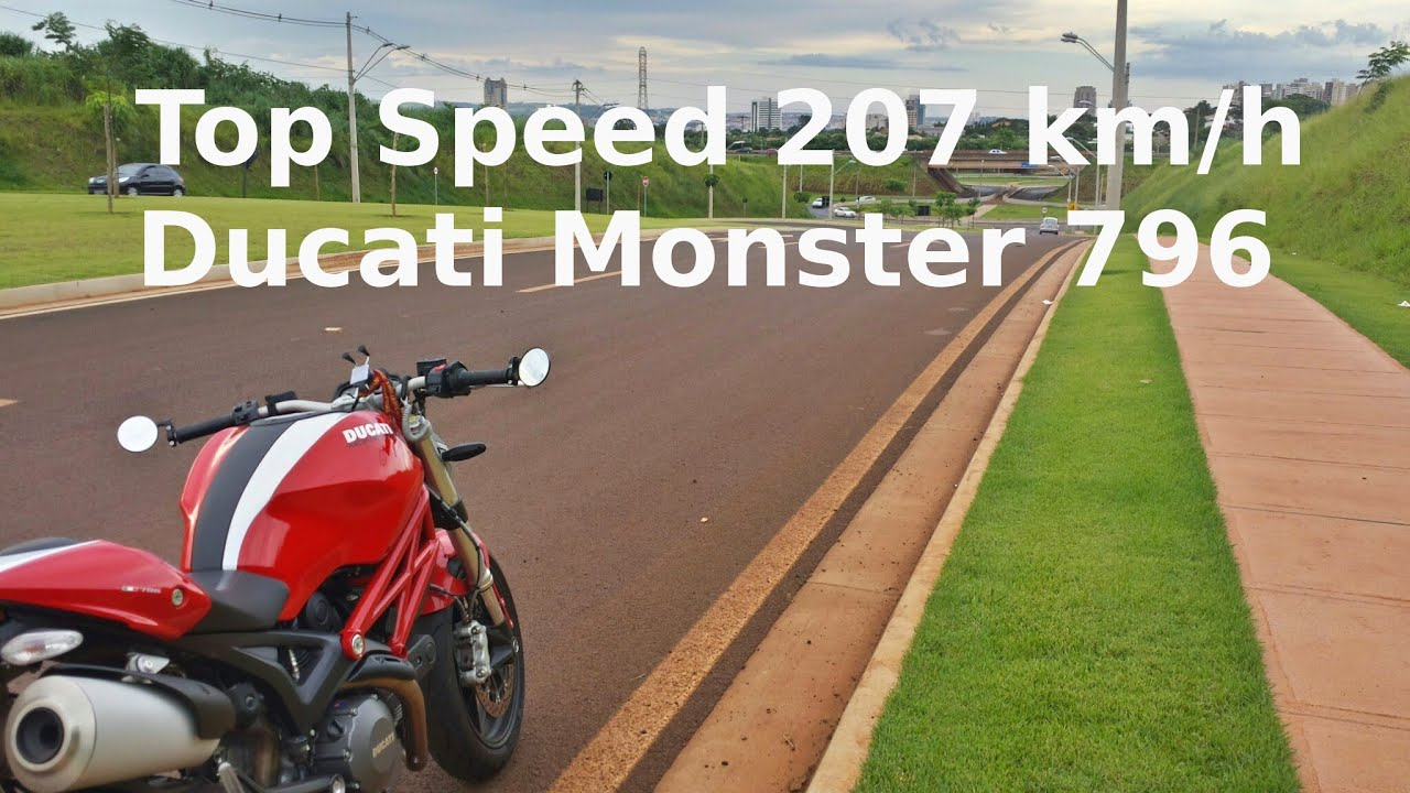 Ducati Monster Top Speed Km H