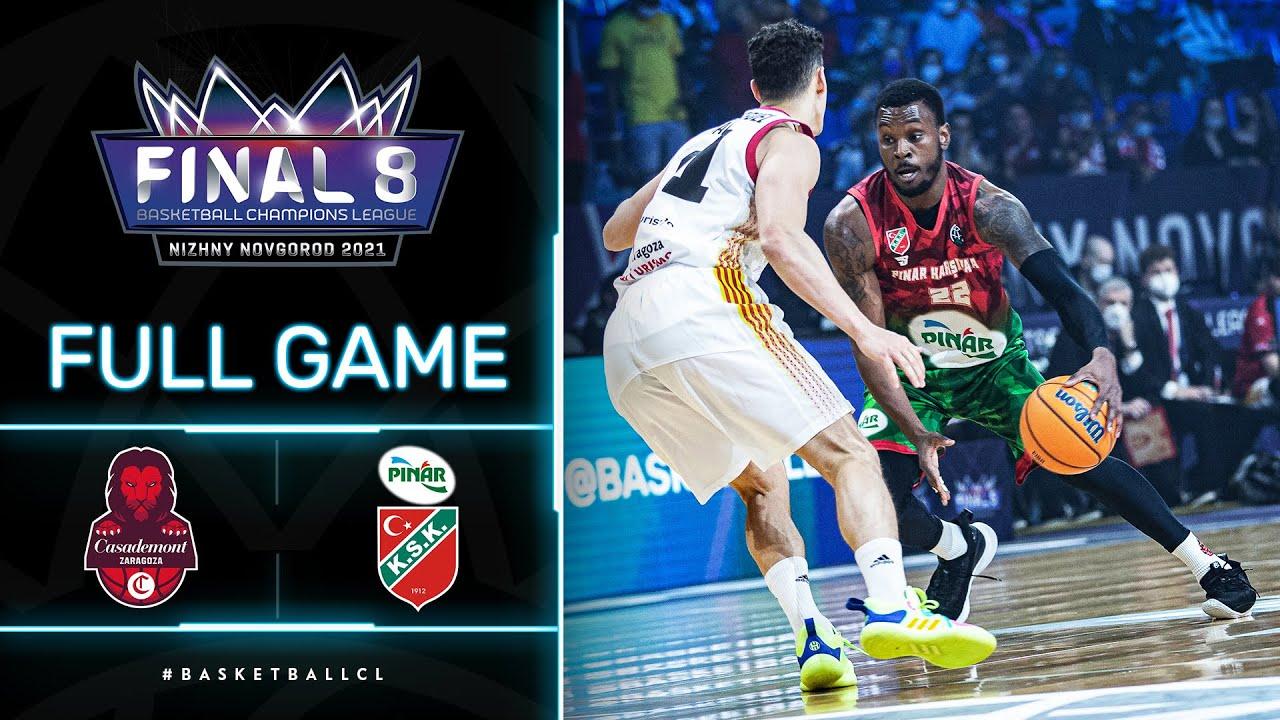 Casademont Zaragoza v Pinar Karsiyaka - Full Game | Basketball Champions League 2020/21