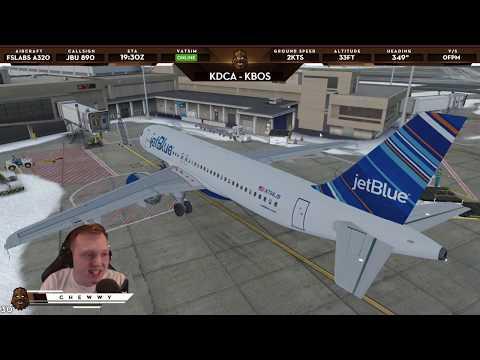 [P3D v4.2] Multiple Runway Arrivals at FlyTampa Boston! | JetBlue A320 @ KBOS