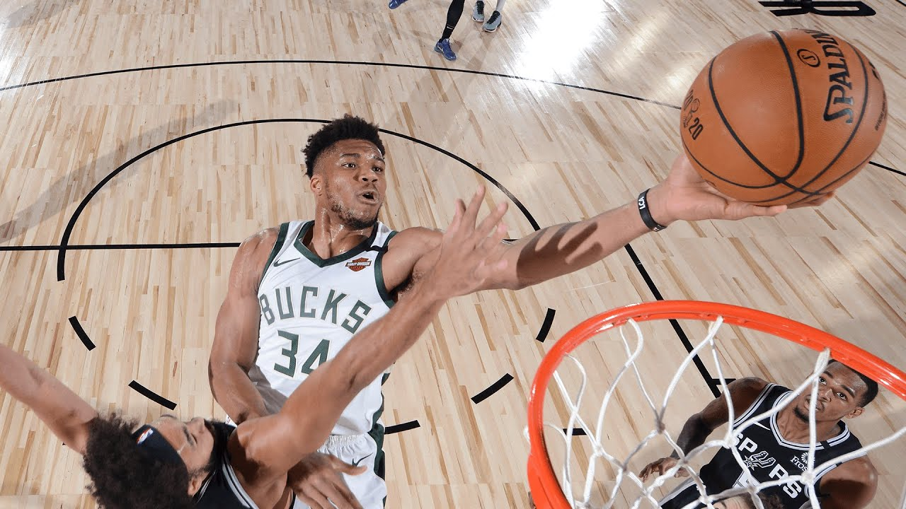Highlights: Bucks 113 - Spurs 92 | 7.23.20