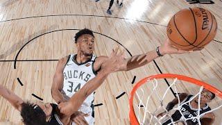 Highlights: Bucks 113 - Spurs 92 | 7.23.20
