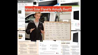 2021 BEST SOLAR PANEL COMPARISON  LG vs Panasonic vs SunPower vs Solaria vs QCELLS