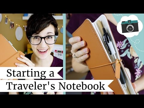 Starting a Traveler's Notebook + JetPens Haul | @laurenfairwx