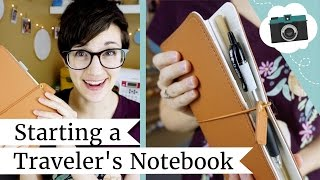 Starting a Traveler's Notebook + JetPens Haul | @laurenfairwx