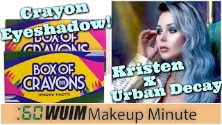 CRAYON BOX Eyeshadow Is COMING! + Kristen Leanne Urban Decay Collection! | Makeup Minute