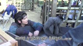 [MBC Drama 2012] BTS Horse Doctor 13 - Jo Seung Woo with animals