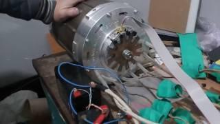 Вентильный Реактивный Двигатель. Switched Reluctance Motor