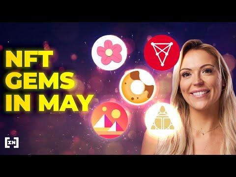 Top 5 des gemmes NFT Altcoin pour mai 2021 |  Projets NFT qui sont en feu!