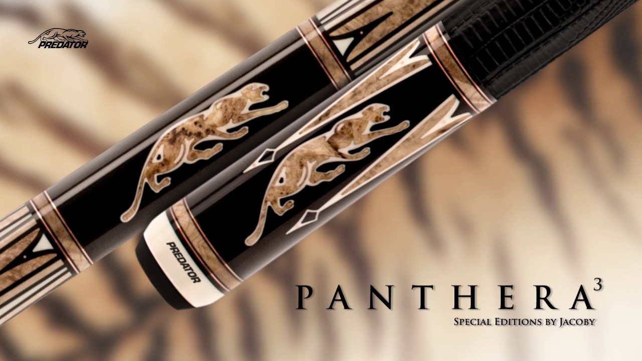 Predator Cues Panthera3 Special Edition Cues by Jacoby