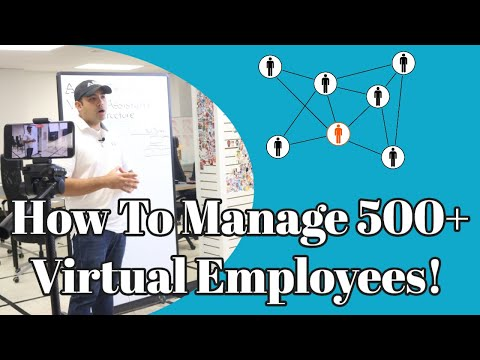 Stealth Agents Team Organizational Structure – How To Manage 500+ Virtual Employees