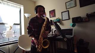 Maxwell - Ascension - (Don't Ever Wonder) Sax Intro Improv - Gaston Beltran