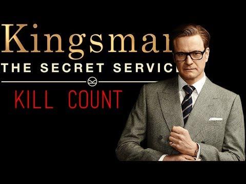 Kingsman: The Secret Service (2014) Kill Count