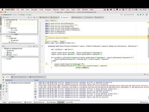 Part 1.1: Java EE Webapplication with servlet and jsp page