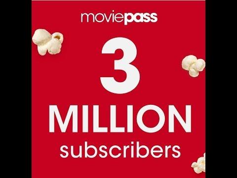 MoviePass Soars Past 3 Million Subscribers!