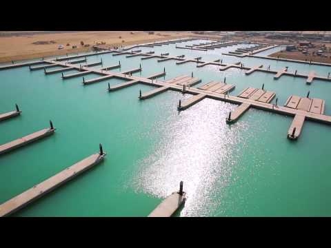 Opening of the first marina at Sabah Al-Ahmad Sea City
