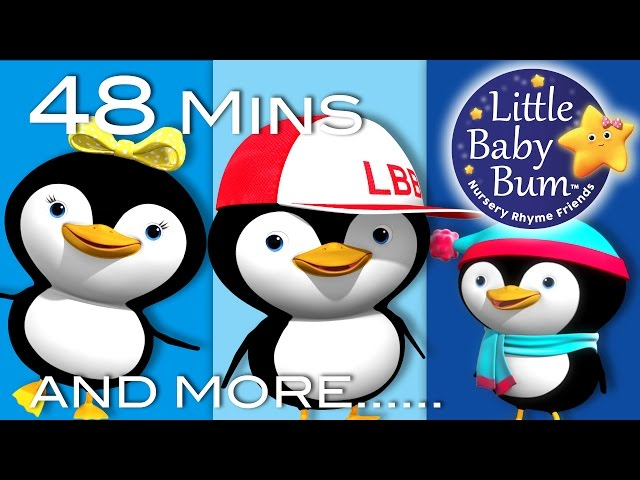 Little Baby Bum | Five Little Penguins | Nursery Rhymes for Babies | Songs for Kids
