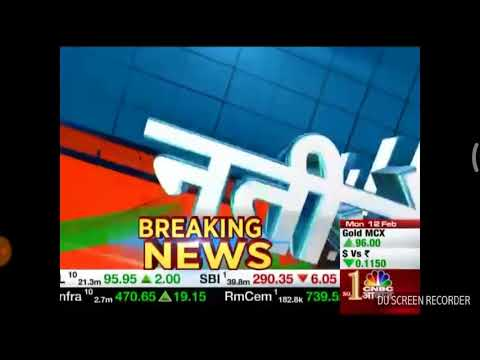 SUN PHARMA AND ABAN OFFSHORE VIEW ON CNBC AAWAZ.