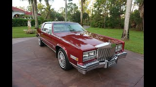 1983 Cadillac Eldorado Biarritz Sunroof Coupe - Review and Test Drive by Bill, Autohaus...