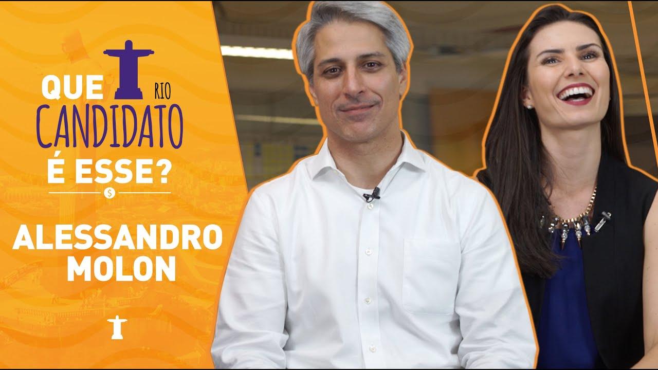 NATHALIA ARCURI - Entrevista: Alessandro Molon - Que Candidato é esse?