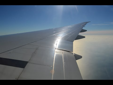 Garuda Indonesia GA89 London Gatwick (LGW) - Amsterdam (AMS) *FULL FLIGHT* Boeing 777-300ER 10/10/15