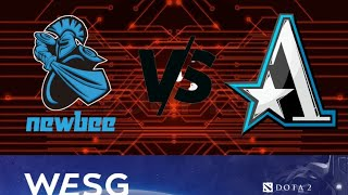 Newbee Vs Team Aster (bo1) World Electronic Sports Game 2019 China Fina