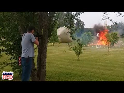 You Better Watch This Before Shooting a Fridge Packed with Tannerite