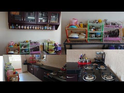 Kitchen Tour | My new kitchen tour Part II | Kitchen Organization | Kitchen tour in tamil