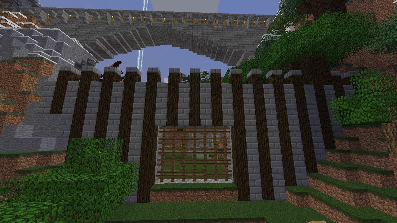 Cancelletto Minecraft : Minecraft ita ep cancello automatico youtube