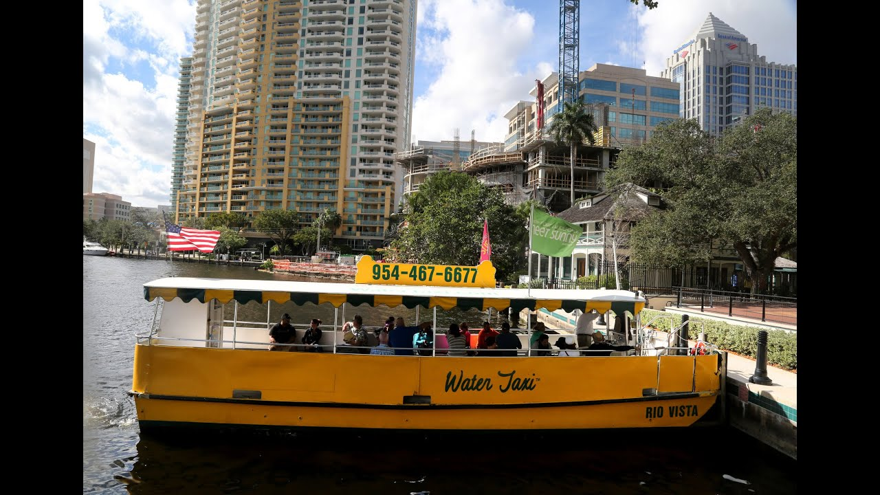 Water Taxi Service Expanding To Pompano Beach