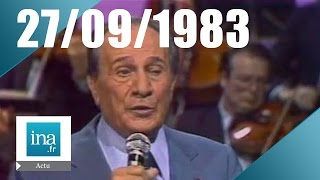 20h Antenne 2 du 27 septembre 1983 - Tino Rossi est mort | Archive INA