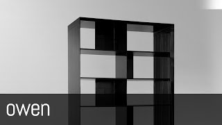 Owen (carbon Fiber/wood Bookcase By Mast Elements)