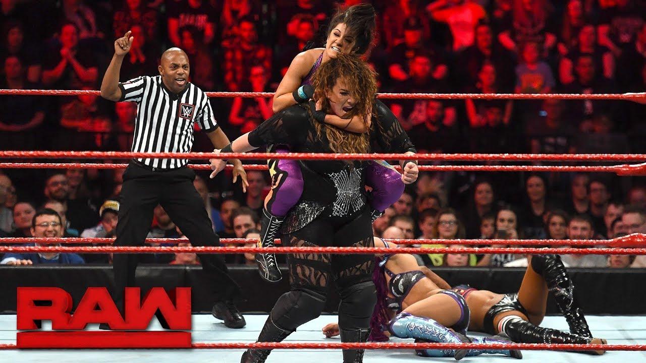 Sasha Banks & Bayley vs. Alicia Fox & Nia Jax: Raw, Nov. 6, 2017