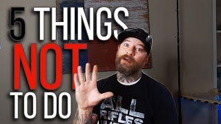5 речей, які не можна робити в байдарці... під час риболовлі!