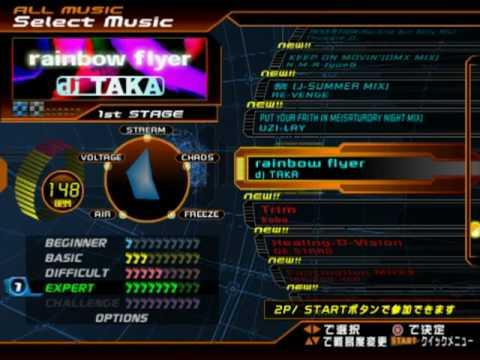DDR SuperNOVA PS2 (JP) - FULL Song list Line Record