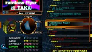 DDR SuperNOVA PS2 (JP) - FULL Song list Line Record
