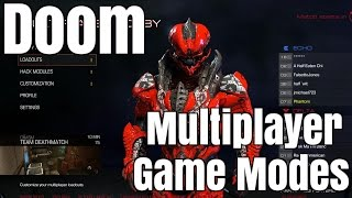 Doom Multiplayer Game Play & Modes!!!!!!