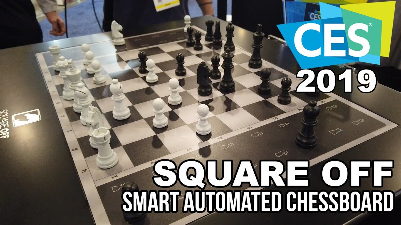 SQUARE OFF Smart Automated Chessboard at CES 2019!