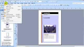 MS Publisher Astuce Comment créer un livret et de les partager en un fichier PDF .mp4
