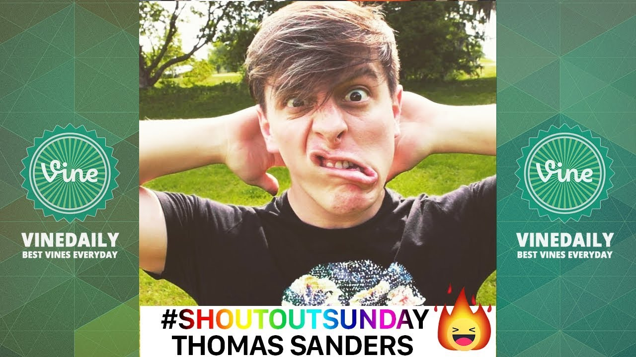 WHEN THOMAS SANDERS SING YOUR NAME COMPILATION 2019| #ShoutoutSunday 2019