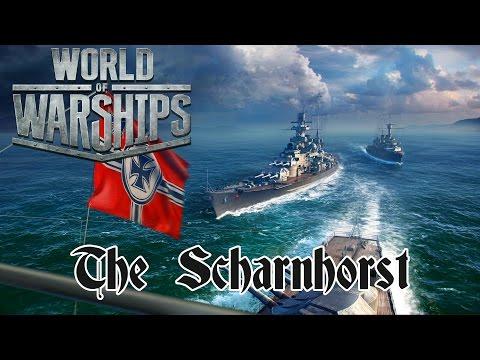 World of Warships - The Scharnhorst