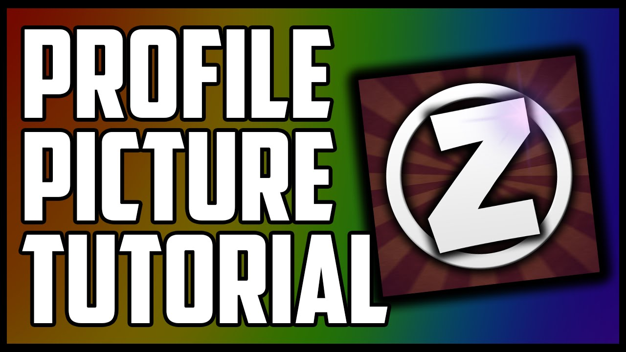 how to make a profile picture on youtube with photoshop 20152016 tutorial youtube