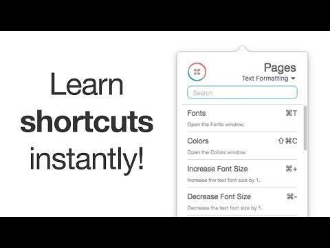 Pages shortcuts for Mac!