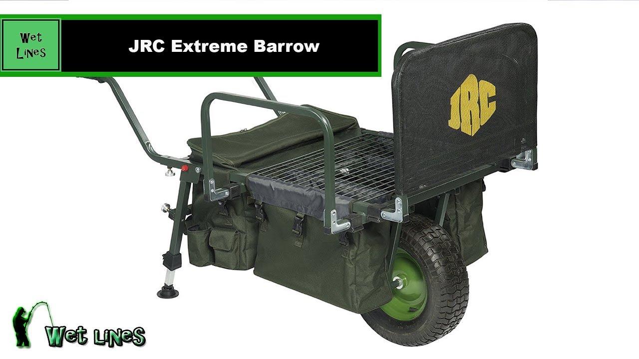 JRC Easy Rider Extreme Fishing Barrow Green
