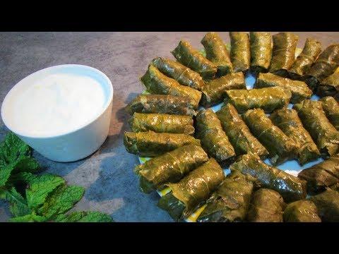 АРМЯНСКАЯ ВКУСНАЯ  ТОЛМА из виноградных листьев рецепт от Inga Avak