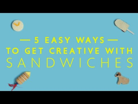 5 Easy Ways To Get Creative With Sandwiches For Kids