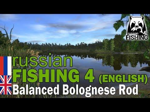 Russian Fishing 4 ENGLISH - Balanced Bolognese Rod Guide (PC)