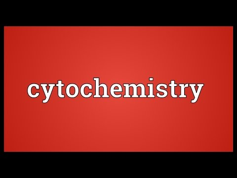 Cytochemistry Meaning