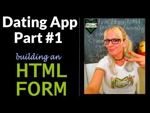 HTML PHP Dating App Project - HTML Form (Vi / VIm - Ubuntu S