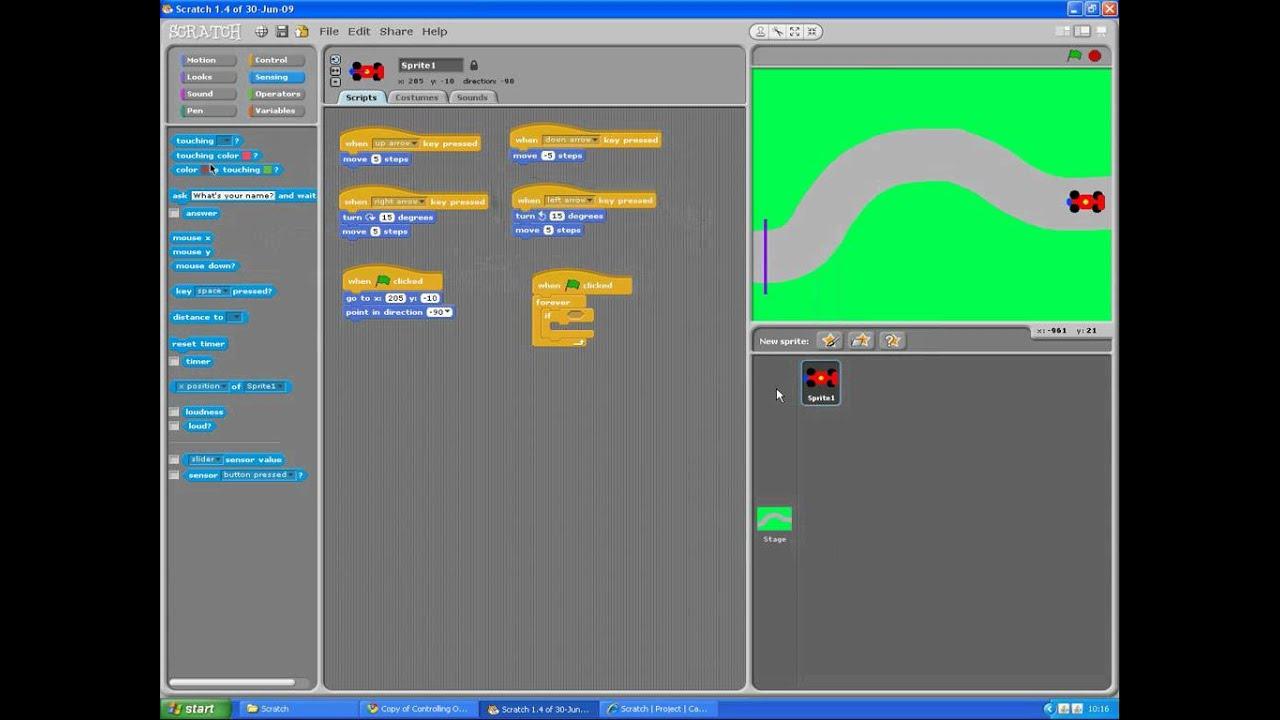 Scratch how to make a car game youtube - Scratch How To Make A Car Game Youtube 4